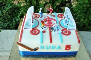 Hokejový dort