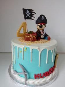 Pirátský dort