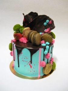Makronkový dort