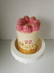 krémový dort