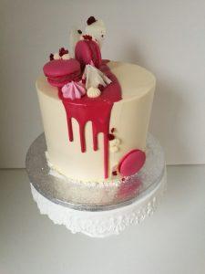 Stékaný dort