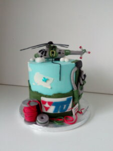 dort s helikoptérou