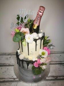 dort se šampaňským